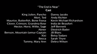 The End is Near voice cast