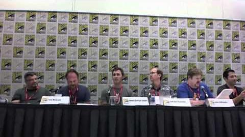 Comic Con 2011 - The Penguins of Madagascar Part 2 (No Music)