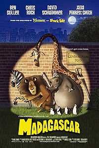 Madagascar Theatrical Poster X2