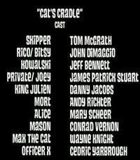Cat's Cradle Cast