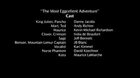 The Most Eggcellent Adventure voice cast