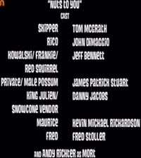 Nuts to you cast