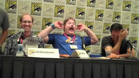 Comic Con 2011 - The Penguins of Madagascar Part 4 (No Music)
