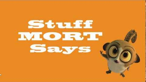 The Penguins of Madagascar - Stuff Mort Says (promo clip)