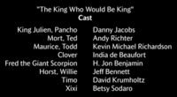 The King Who Would Be King Voice Cast