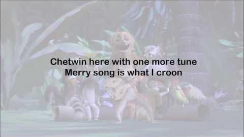 All Hail King Julien - Chetwin's Tune (full end credits version) - Lyrics