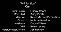 Poll Position Voice Cast