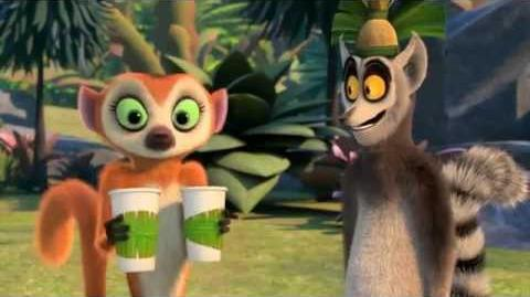 Clover drinks coffee. (All hail King Julien)-(HD)