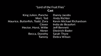 Lord of the Fruit Flies voice cast
