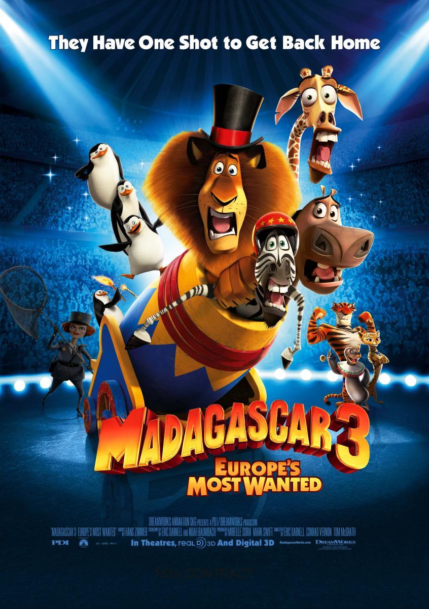 Madagascar 3: Europe's Most Wanted | Madagascar Wiki | Fandom