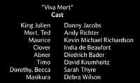 Viva Mort Voice Cast
