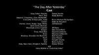 The Day After Yesterday voice cast