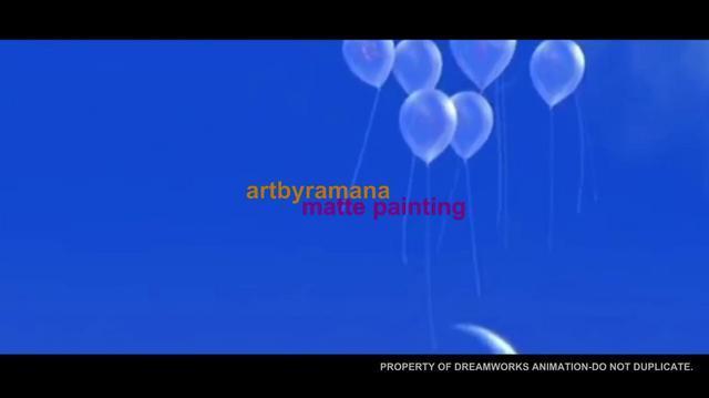 Artbyramana DreamWorks DemoReel