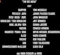 The big move cast