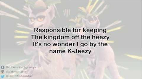 All Hail King Julien - Fleek Rap - Lyrics