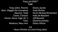 King Juli-END? Voice Cast