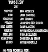 Byte-sized cast
