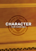 Previm-Character Page Guideline