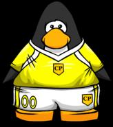 Yellow Soccer JerseyPC