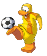 Yellow Team Player