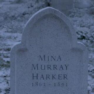 Gravestone of Mina Murray Harker