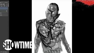 Penny Dreadful Comic Time-Lapse Art Drawing The Creature-0
