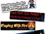 Penny Arcade Bumper Stickers