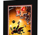 Penny Arcade Dr. Raven Darktalon Blood Limited Edition Laser Cel