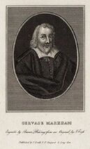 Gervase Markham by Burnet Reading, after Thomas Cross (2)