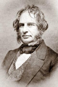 Henry W Longfellow with signature-crop
