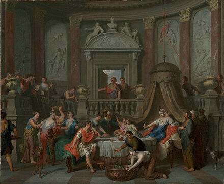 Gerard Hoet-The Banquet of Cleopatra
