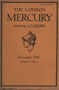 London mercury 1919 12