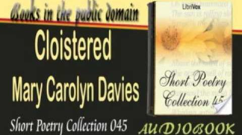 Cloistered Mary Carolyn Davies Audiobook Short Poetry