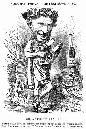 Matthew arnold cartoon