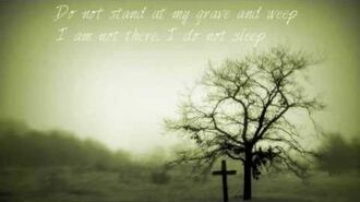 Do Not Stand At My Grave And Weep by Mary Elizabeth Frye (read by A Poetry Channel)
