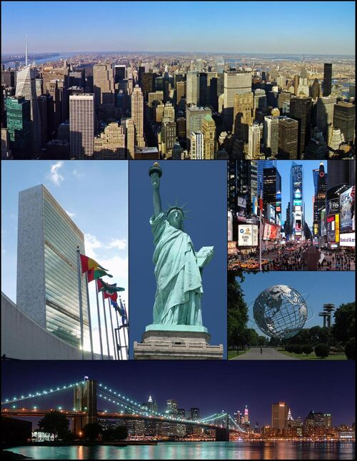 NYC Montage 16 by Jleon
