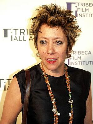 Jessica Hagedorn at the 2008 Tribeca Film Festival
