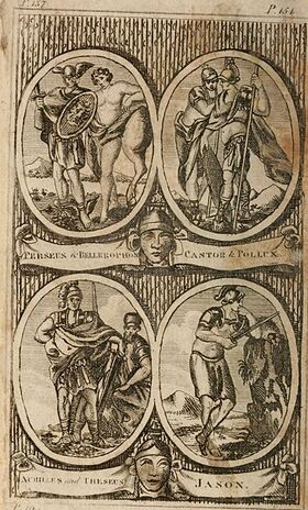 The Pantheon - or, fabulous history of the heathen gods, goddesses, heroes, &c, explained in a manner entirely new; with an appendix by William Cooke (1809) (14593196080) (1)