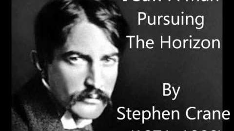 """I Saw A Man Pursuing The Horizon"" Stephen Crane poem & analysis for students"