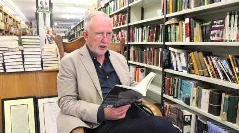 William Wall reading at Kennys Bookshop - April 2016