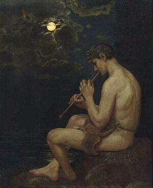 Hans Thoma Endymion 1886