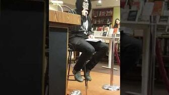 Atticus Poetry Reading From The Dark Between Stars
