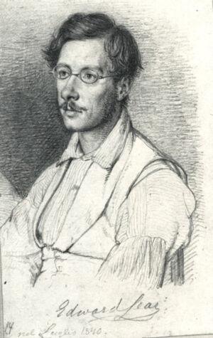Edward Lear drawing
