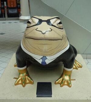 Art installation Larkin with Toads 28
