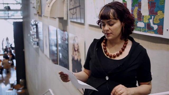 "Sascha Aurora Akhtar ""THE UNIVERSAL MYSTIQUE OF NOT-WRITING"""