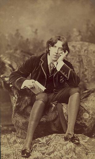 Oscar Wilde by Napoleon Sarony (1821-1896) Number 18 b