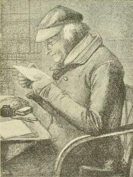 Gabriele Rossetti by Dante Gabriel Rossetti
