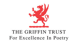 Griffin Trust For Excellence In Poetry red gryphon logo