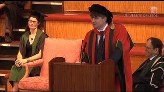 Professor Simon Armitage performs his poem Zoom