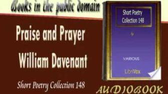Praise and Prayer William Davenant Audiobook